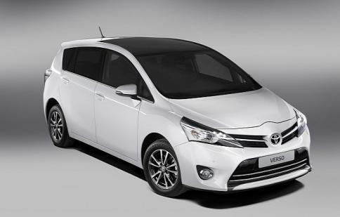 Toyota nâng cấp Verso 2013