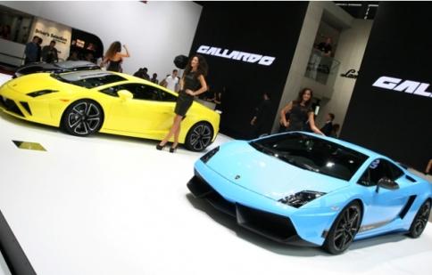 Bộ đôi Lamborghini Gallardo 2013 tại Paris 2012