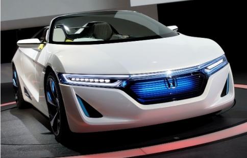 Honda sẽ ra mắt hàng loạt mẫu xe mới vào năm 2015
