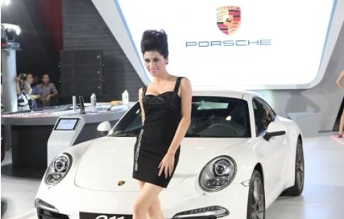 Porsche 911 - ngôi sao sáng tại Vietnam Motor Show 2012