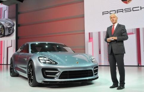Porsche giới thiệu bản xem trước của Panamera thế hệ mới