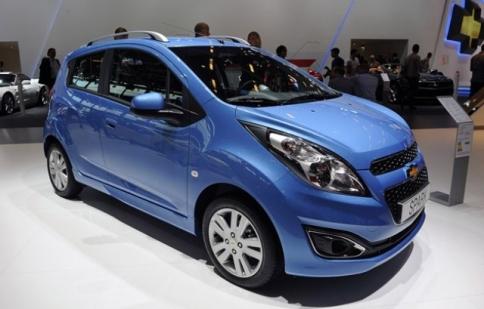 Chevrolet Spark 2013 được làm mới