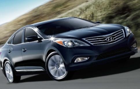 Hyundai Azera 2013 tăng giá nhẹ