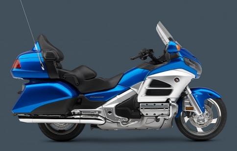 Honda Goldwing 2013 lộ diện
