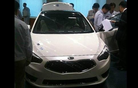 Kia K7 lộ diện tại Hàn Quốc