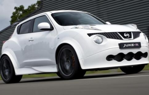 Nissan Juke - R đầu tiên được bán ra