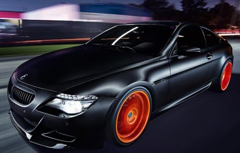 BMW M6 sẵn sàng cho Halloween