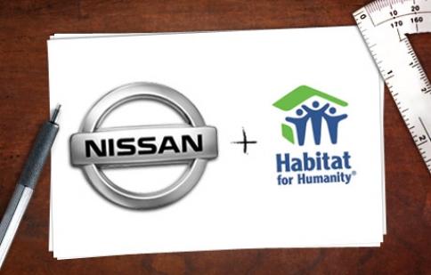 Nissan và Habitat hợp tác vì cộng đồng