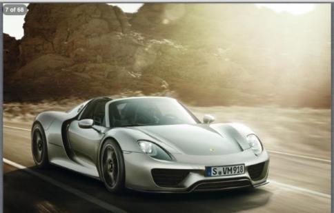 Porsche 918 Spyder có giá 1 triệu USD