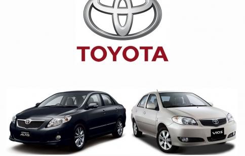 Toyota Việt Nam triệu hồi xe kể từ ngày 3/11