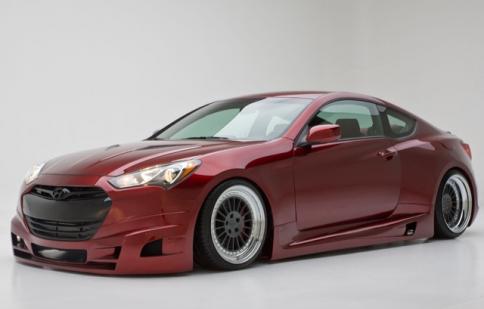 Các mẫu Coupe Concept của Hyundai nổi bật tại SEMA