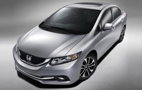 """Ảnh """"sống"""" đầu tiên của Honda Civic 2013"""