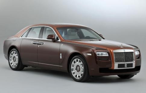 Bộ sưu tập Rolls-Royce Ghost Một Ngàn Lẻ Một Đêm