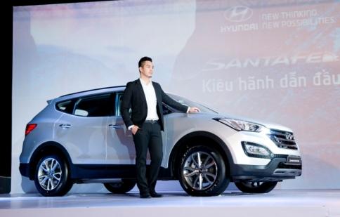 Hyundai Santa Fe 2013 chính thức có mặt tại Việt Nam