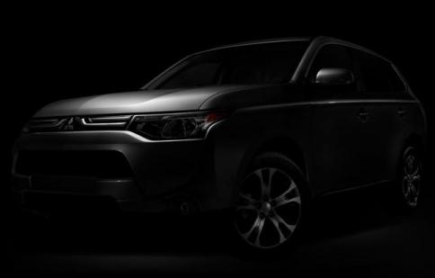 Mitsubishi úp mở về Outlander 2014