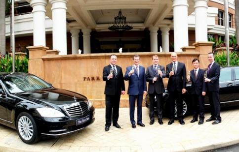 Park Hyatt Saigon nhận lô 5 chiếc Mercedes S-Class