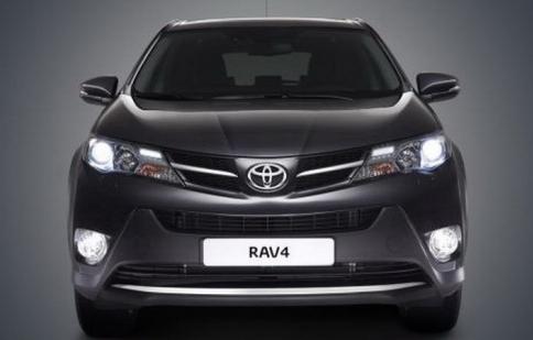 Toyota RAV4 2013 chính thức lộ diện