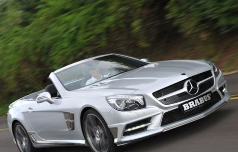 """""""Ngôi sao bạc"""" Mercedes SL mạnh mẽ và thanh thoát"""