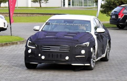 Hyundai Genesis Sedan sẵn sàng để sản xuất