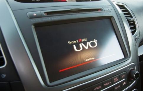 Kia Sorento 2014 có hệ thống thông tin giải trí mới