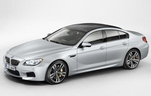 BMW M6 Gran Coupe lộ diện trước ngày ra mắt