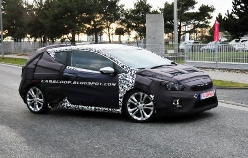 Kia Pro Cee'd GT bắt đầu chạy thử nghiệm
