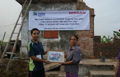 Nissan Việt Nam và Habitat tiếp tục dự án vì cộng đồng