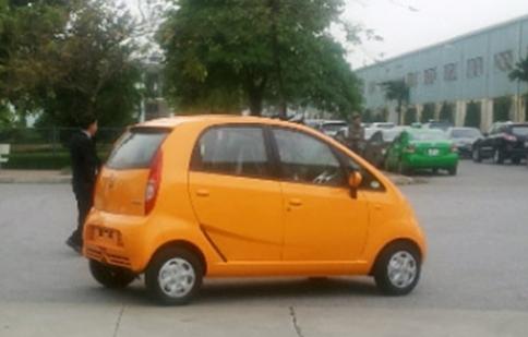 Tata Nano về Việt Nam với giá 200 triệu đồng