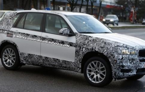 BMW X5 2014 lộ ảnh thử nghiệm