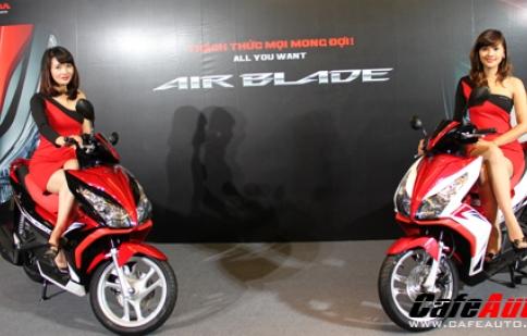 Honda Air Blade 125 hoàn toàn mới có giá từ 38 triệu đồng
