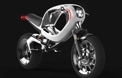 Chiếc xe điện độc đáo Frog eBike Concept