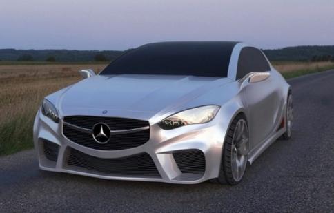 Mercedes ra xe hatchback mới cực ngầu