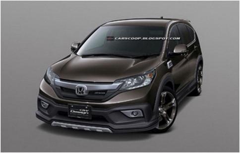Rò rỉ hình ảnh Honda CR-V bản nâng cấp