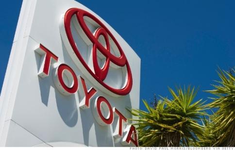 Toyota phải bồi thường 1,1 tỷ USD do lỗi tăng tốc đột ngột