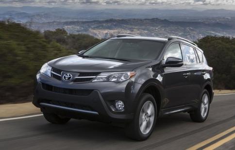 Toyota RAV4 2013 cải tiến tối ưu