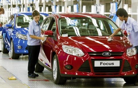 Ford lập kỷ lục doanh số tại Trung Quốc