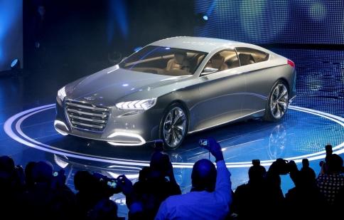 Hyundai HCD-14 Genesis concept – thêm nét hiện đại