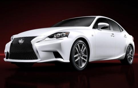 Lexus IS lộ diện trước thềm Detroit Auto Show