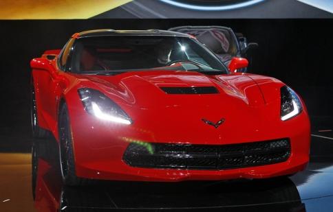 Lộ ảnh nội thất Chevrolet Corvette C7 2014