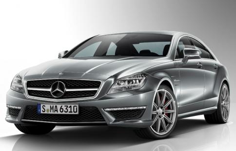 Mercedes cập nhật CLS63 AMG