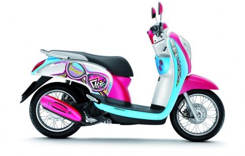 "Honda giới thiệu ""tắc kè hoa"" Scoopy"