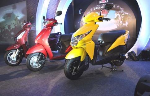 Honda tung ra 3 mẫu tay ga mới