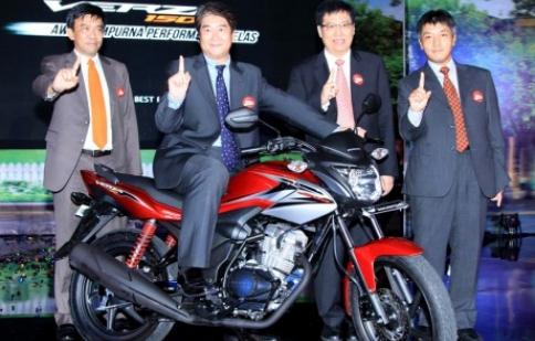 Honda Verza 150 có giá trên 34 triệu đồng