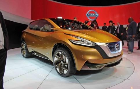 Nissan Resonance concept – bước đệm cho Murano