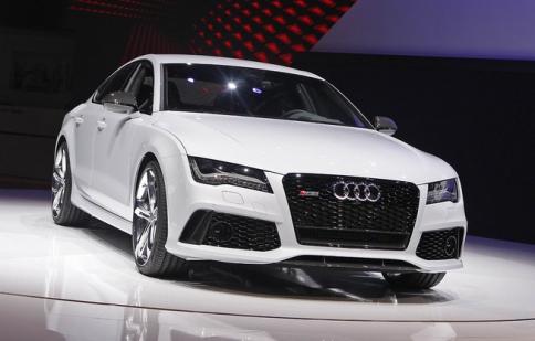 Sức mạnh mới của Audi RS 7 lộ diện tại Detroit