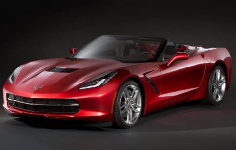 Chevrolet tiếp tục khoe mẻ Corvette 2014 mui trần