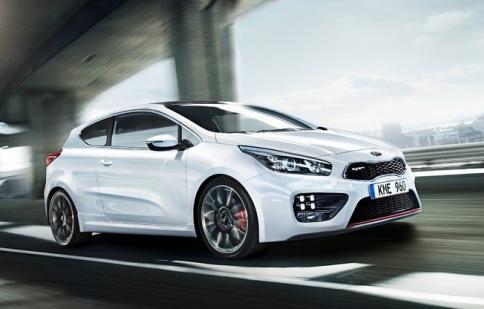 Kia chính thức giới thiệu pro_cee'd GT