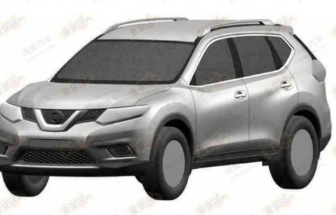 Lộ bản phác thảo Nissan X-Trail và Rogue