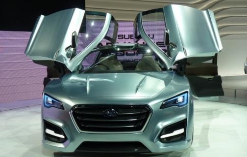 Subaru thử sức với xe Hybrid