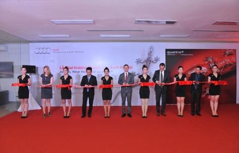 Audi khai trương Showroom lớn nhất tại Hà Nội
